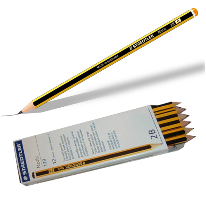 Staedtler 120 2B Noris Pencil (12pcs)