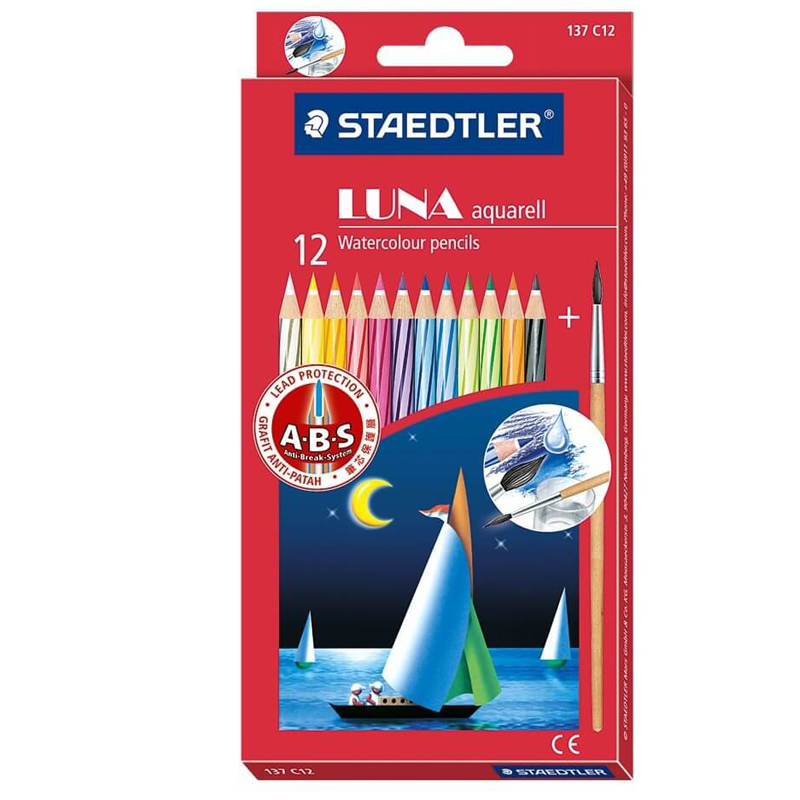 Staedtler Luna 12 Colour Pencil 61set35 (Long)
