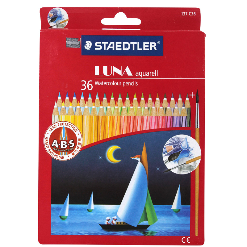 Staedtler Luna 36 Colour Pencil 61set36 (Long)