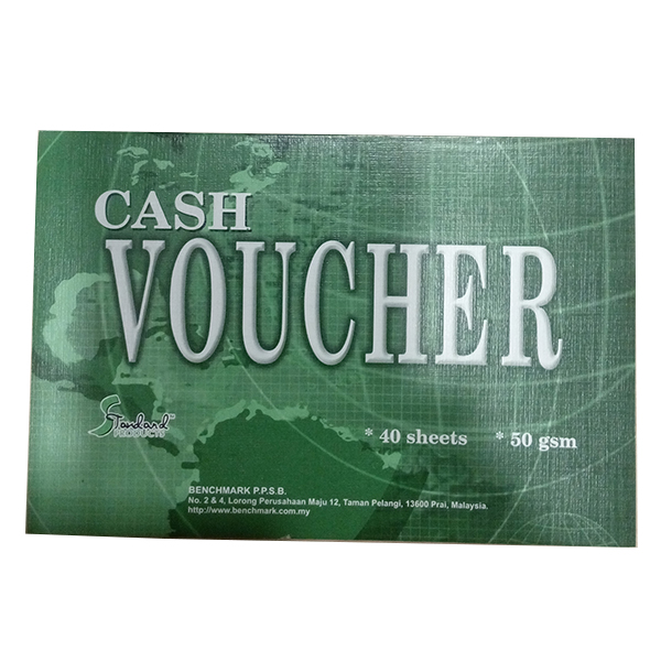 Standard 4x6 Cash Voucher 40sheets