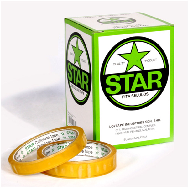 Star Stationery Tape 24mm x 33y (Large Core)