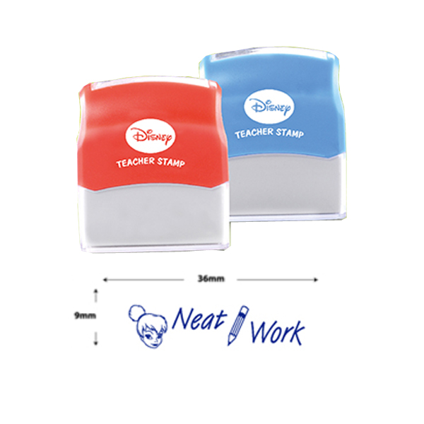 AE Teacher Stamp - Neat Work (Blue)