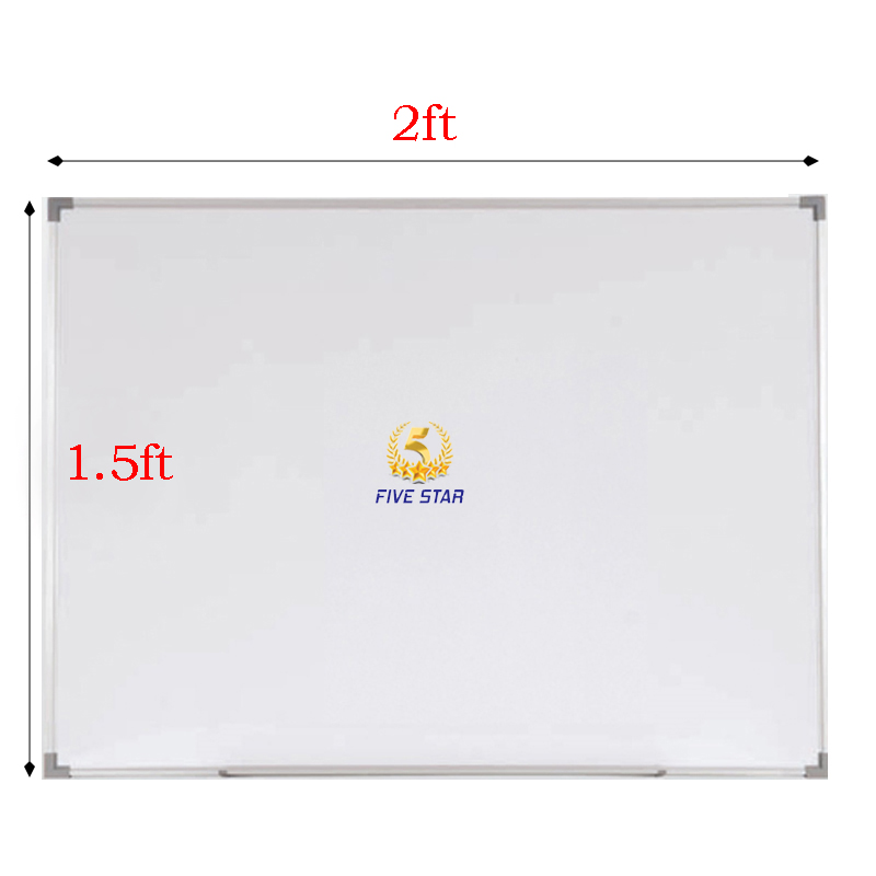 1.5'X2' Magnetic White Board (SM15) 1.5ft x 2ft