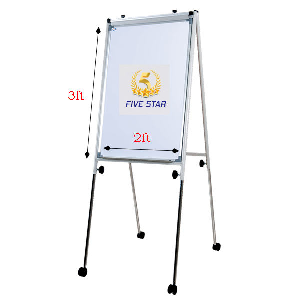 Writebest Economy Flip Chart 2ft x 3ft Magnet with Roller